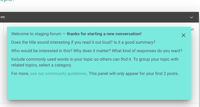 can we alter the welcome text?